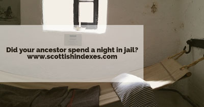 Did your ancestor spend a night in jail?