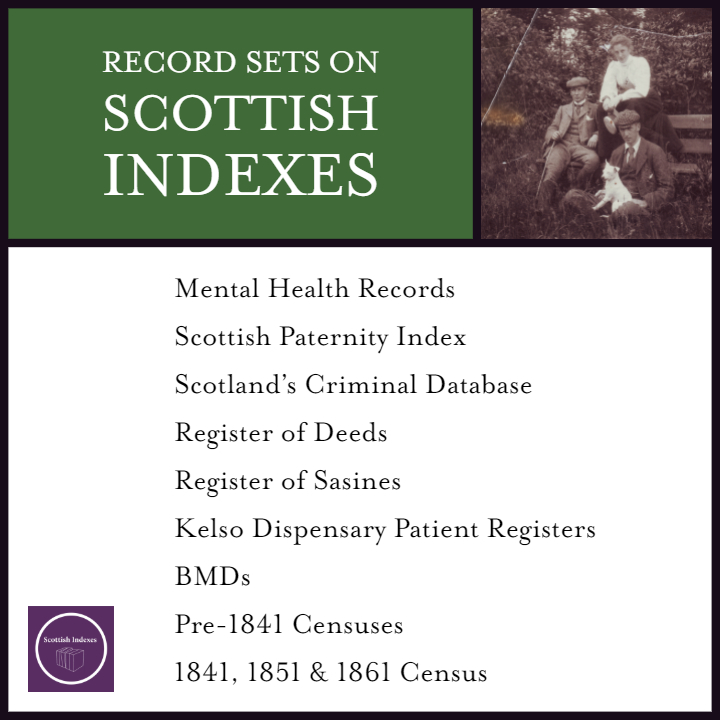 Scottish Indexes - Record Sets